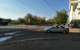 Центр Читы перекрыли из-за репетиции парада Победы (фото)