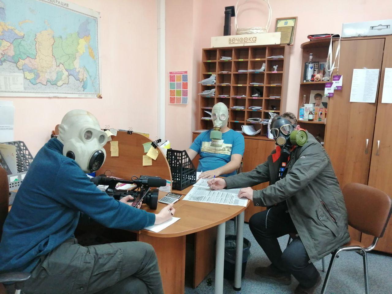 Сотрудники газет смогут работать во время режима изоляции