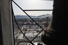 Чита, по ком звонят твои колокола? Вид с кафедрального собора. 9 марта