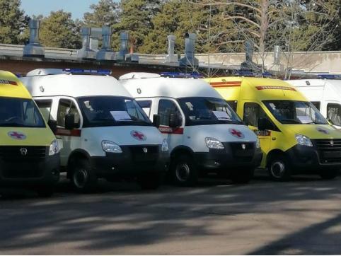 Новые автомобили скорой помощи выдали в Забайкалье