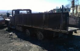Неизвестные подожгли машину главы Золотореченска