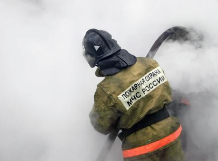 По вине бездомного в Руднике Кадала произошел пожар