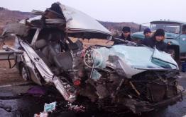 Микроавтобус, попавший в ДТП с семью погибшими, был легковым такси и ехал из Оловянной в Читу
