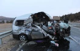 Арестован водитель автомобиля, в который врезался микроавтобус в Агинском районе — в этом ДТП погибло семь человек