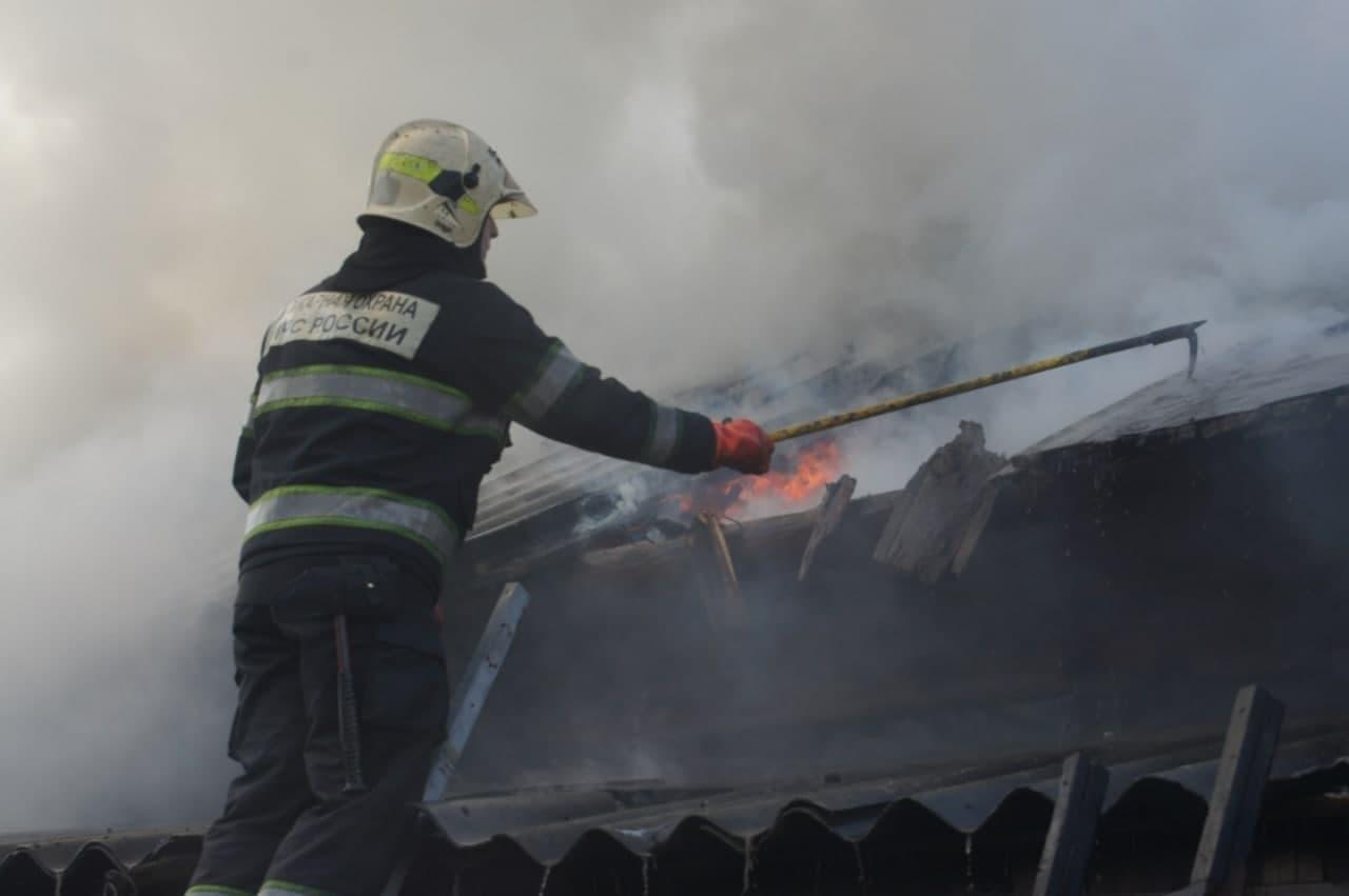 Пенсионер сгорел в своем доме в забайкальском поселке