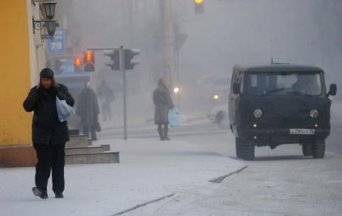 Небольшой снег и морозы ожидаются в Забайкалье в начале недели