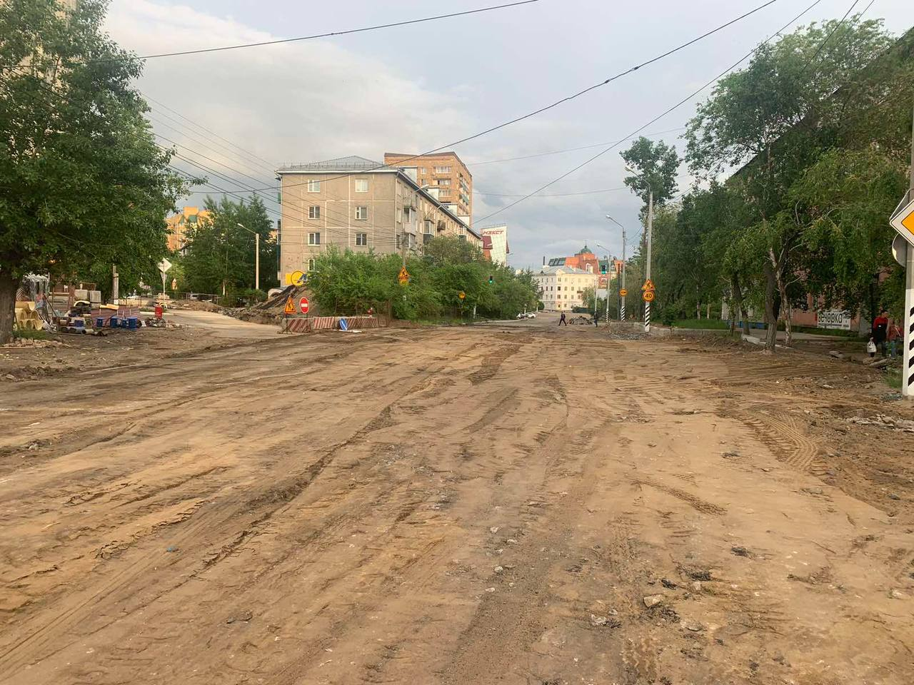 Улицу Кастринскую открыли после ремонта в Чите