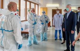В Читу прилетела бригада врачей из Москвы из-за ситуации с коронавирусом