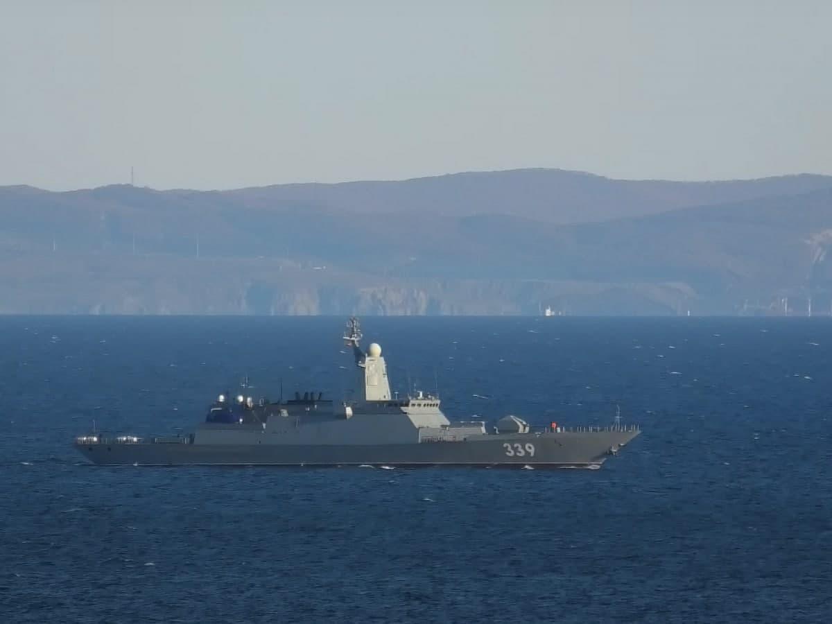 Корабль, названный в честь забайкальца Алдара Цыденжапова, испытал корабельное оружие в Японском море