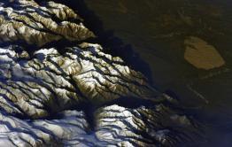 Космонавт показал Чарские пески с борта МКС (фото)
