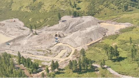 Золотодобывающие компании заплатят штраф за загрязнение забайкальских рек. Видео