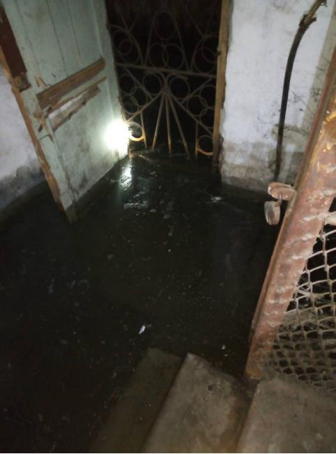 Подвал дома в Шара-Горохоне затопило дождями